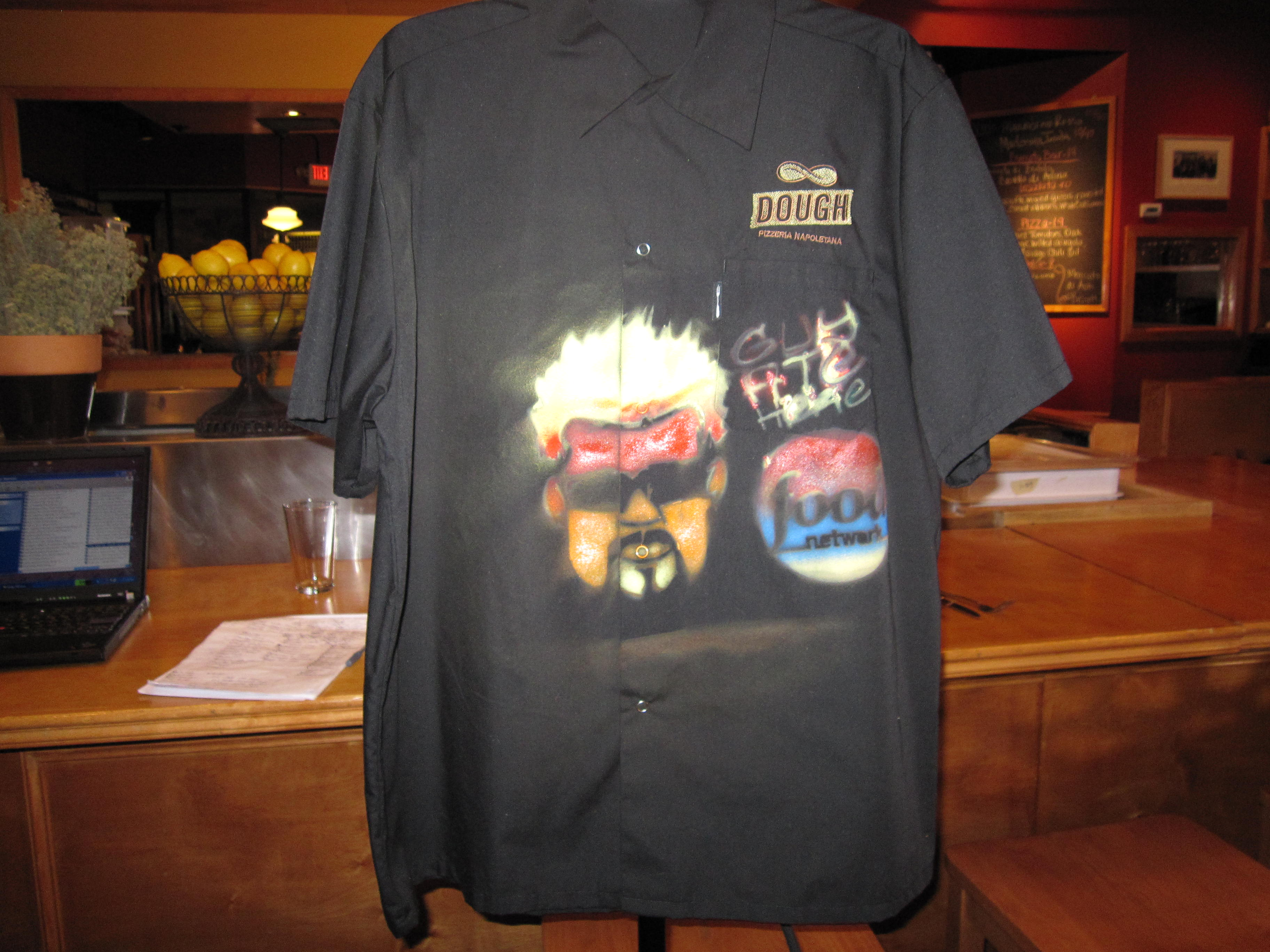 Guy Fieri Diners Drive Ins And Dives Dough Pizzeria Napoletana